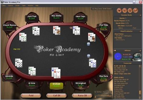 Poker Academy Pro — обзор программы для Техасского Холдема