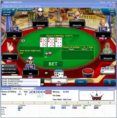 Poker Calculator Pro — калькулятор для профессионалов покера