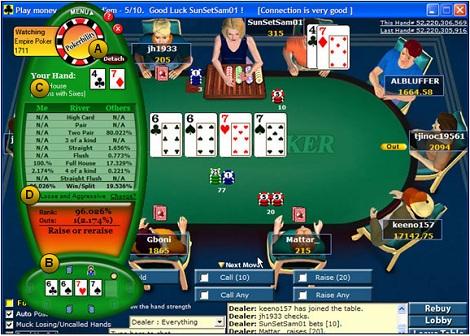 Pokerbility - покерный калькулятор для начинающих